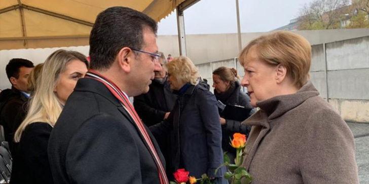 İBB Başkanı Ekrem İmamoğlu'ndan Almanya Başbakanı Angela Merkel'e davet!