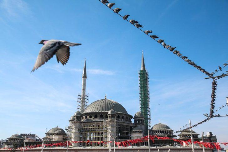 Taksim Camisi'nin kaba inşaatı tamamlandı! İşte o tarih...