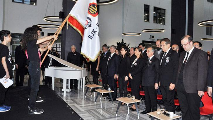 Beşiktaş Başkanı Çebi, Ulu Önder Atatürk'ü anma törenine katıldı
