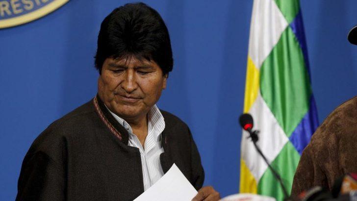 Morales'ten Başkanlık Seçimini Tekrar Etme Sözü
