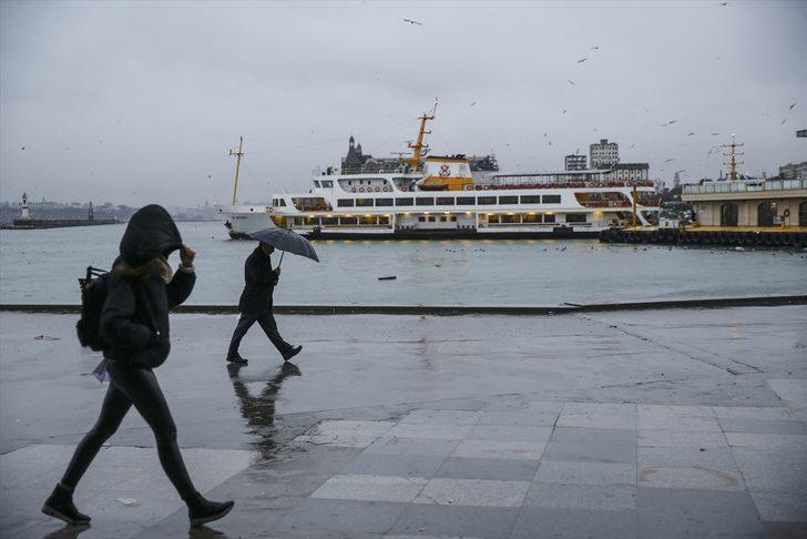 Meteoroloji'den son hava durumu tahmini (İstanbul, İzmir ve çevresi için yağmur uyarısı)