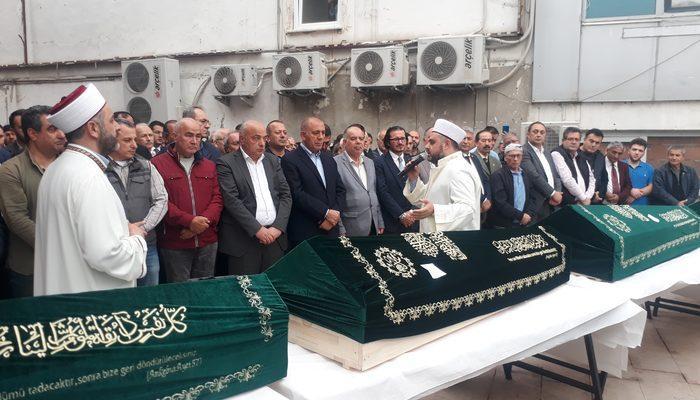 İstanbul Fatih'te evlerinde ölü bulunan 4 kardeş son yolculuklarına uğurlandı