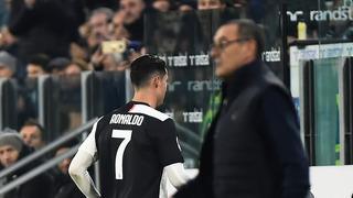 Ronaldo'dan Sarri'ye ağır küfürler