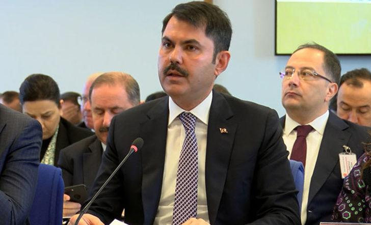 Çevre ve Şehircilik Bakanı Kurum'dan 'Boğaziçi Kanunu' açıklaması
