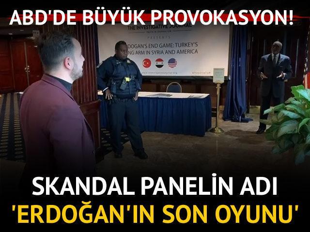 Büyük provokasyon! Skandal panelin adı 'Erdoğan'ın Son Oyunu'