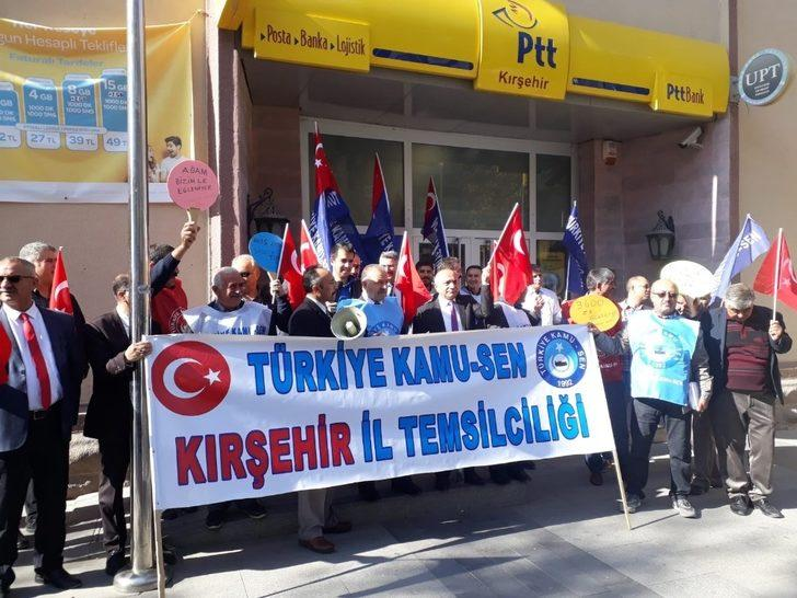 Türk Eğitim Sen Kırşehir Şube Başkanı Bilal Türk: