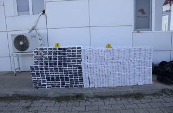 Ağrı'da 25 günde 36 bin 820 paket sigara ele geçirildi