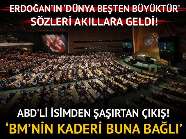 Erdoğan yıllarca eleştirmişti! ABD'li isimden şaşırtan açıklama!