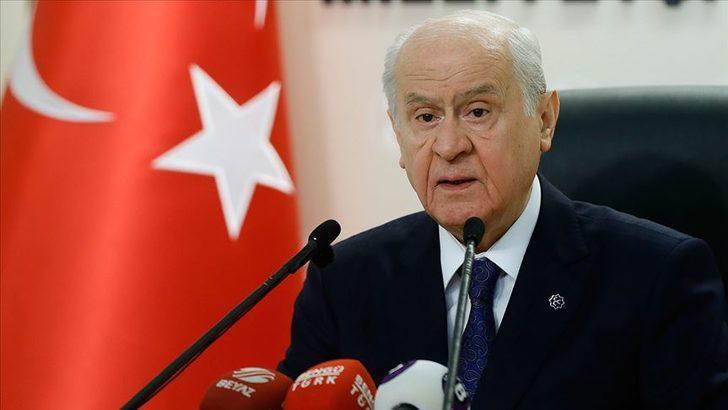 Bahçeli'den Erdoğan'ın ABD ziyareti hakkında açıklama