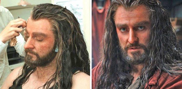 Hobbit filmiyle tanımıştık! Makyajın altından bakın kim çıktı