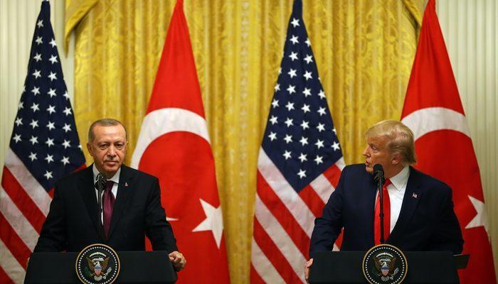 Beyaz Saray'daki kritik görüşme sonrası Erdoğan ve Trump'tan dikkat çeken açıklamalar!