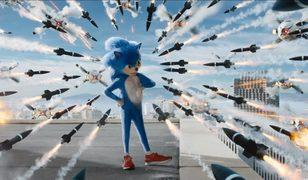 Kirpi Sonic şehri maviye boyuyor!