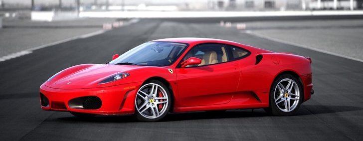 İcradan satılık kırmızı Ferrari