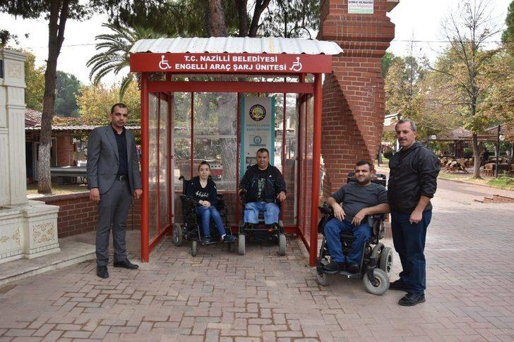 Engellilerden Başkan Özcan'a teşekkür