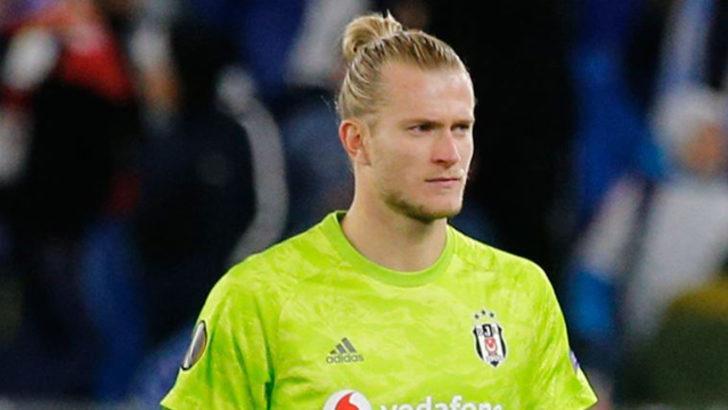 Beşiktaş'ın kalecisi Loris Karius performansından memnun