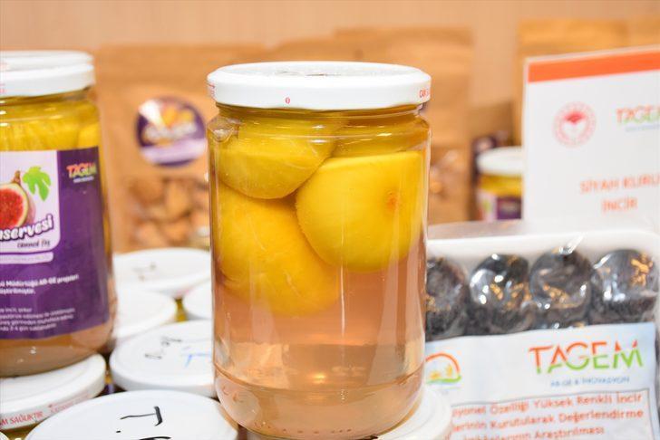 Aydın'da incirin unu, konservesi, suyu ve şurubu yapıldı