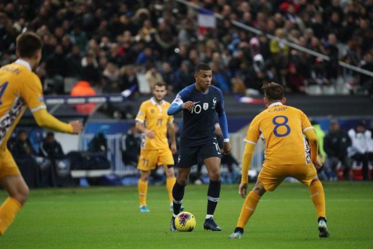 Fransa 2 - 1 Moldova (EURO 2020 Elemeleri)