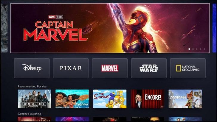 Disney Plus (Disney+) ilk günden 10 milyon aboneye ulaştı