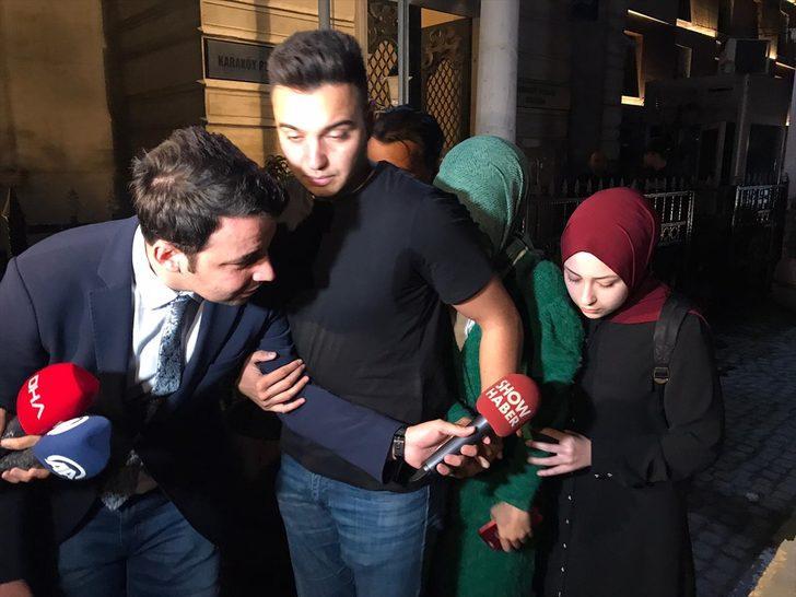 GÜNCELLEME - Karaköy'de başörtülü kıza yapılan saldırı