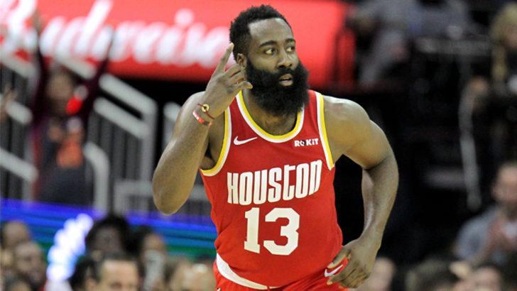 Harden coştu, Houston Rockets kazandı