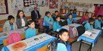 Kaymakam Özdemir, Mehmetli'de okulları ziyaret etti