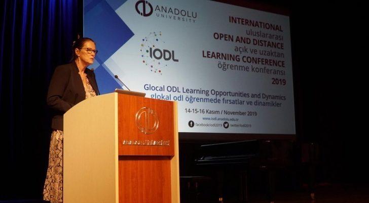 Prof. Dr. Liz Marr, IODL 2019 konferansında konuştu