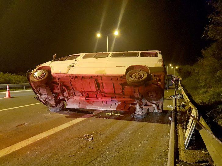 İzmir'de feci kaza! Sürücü olay sonrası kayıplara karıştı!