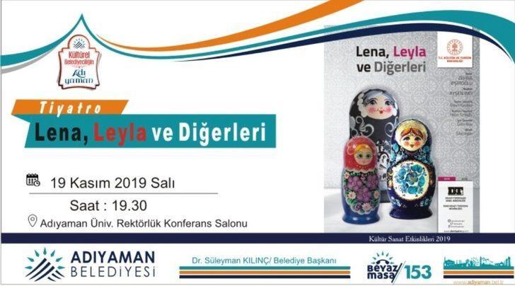 Adıyaman Belediyesinin kültür sanat etkinlikleri devam ediyor