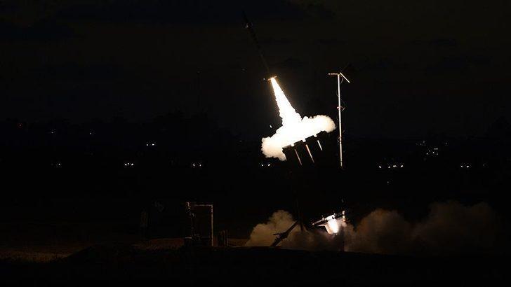 İsrail ordusu açıkladı: Suriye'den roket atıldı