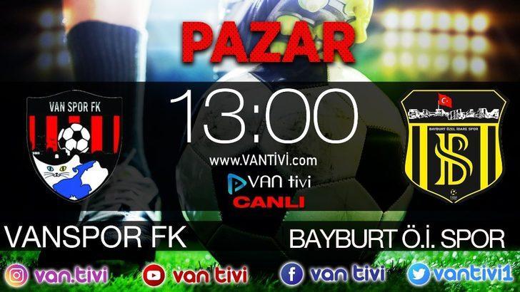Van Spor'un maçı Van Tivi'de