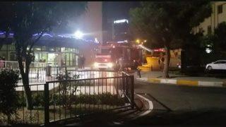 İstanbul'da hastanede yangın paniği!
