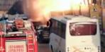 Kadıköy'de korkunç patlama! Saniye saniye kamerada