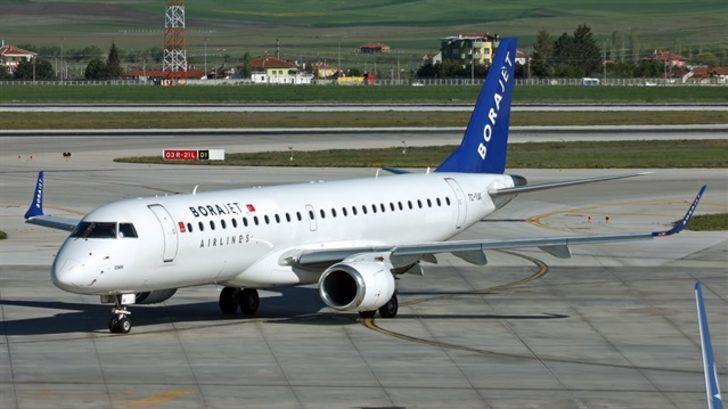 Türkiye'nin ilk ve tek bölgesel havayolu şirketi  Borajet resmen iflas etti