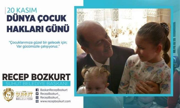 Başkan Bozkurt'tan Dünya Çocuk Hakları Günü mesajı