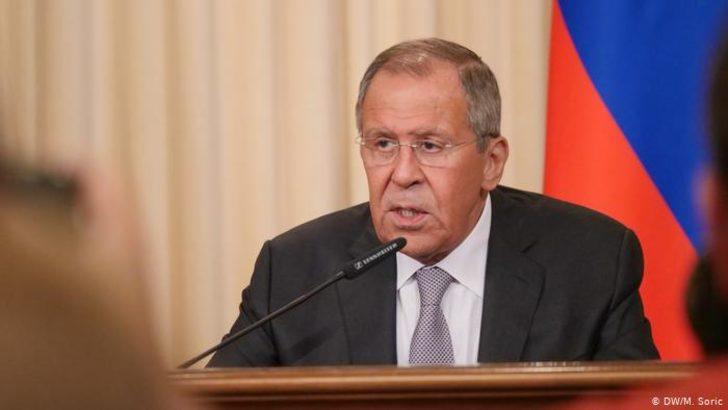 Lavrov'dan Türkiye operasyona devam etmeyecek açıklaması