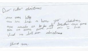 7 yaşındaki kız çocuğu Noel Baba'dan ev ve oyuncak bebek istemişti...