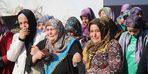 Cezaevi firarisi eşinin öldürdüğü kadın toprağa verildi
