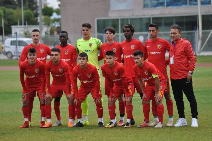 Kayserispor U19 takımı Sivasspor'u konuk edecek