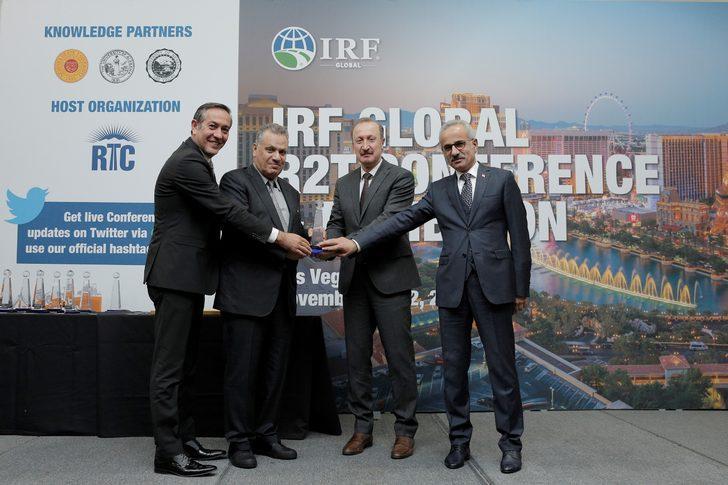 IRF'ten Yavuz Sultan Selim Köprüsü'ne global başarı ödülü