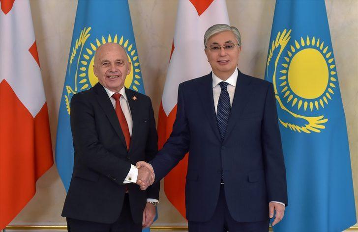 """Kazakistan Cumhurbaşkanı Tokayev: """"Bölgede en iyi yatırım ortamı olan ülkeyiz"""""""