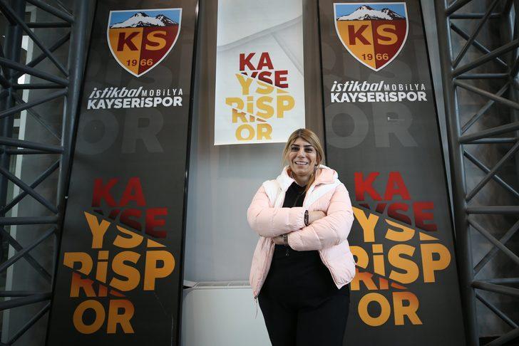 Kayserispor'un yeni başkanı Berna Gözbaşı (Süper Lig'in ilk kadın başkanı oldu)