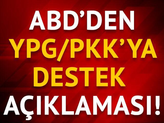 ABD'den YPG/PKK açıklaması
