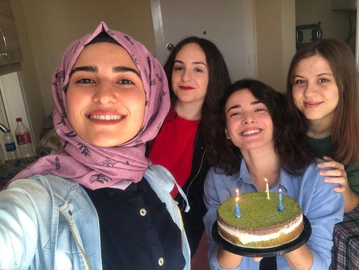 Güleda'dan geriye mutlu ve neşeli görüntüleri kaldı