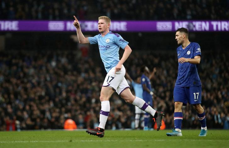 Manchester City 2 - 1 Chelsea (Premier Lig maç sonucu)