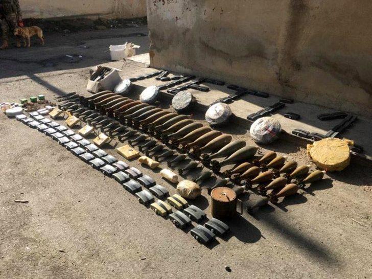 Resulayn'da çok sayıda patlayıcı imha edildi