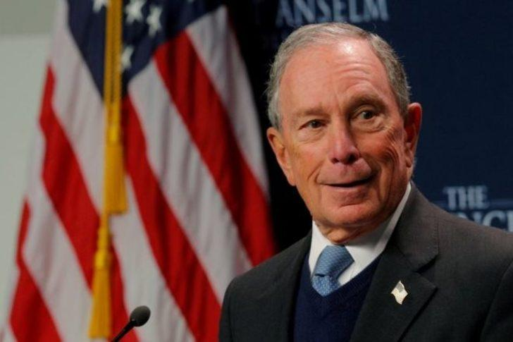 Dünyanın en zenginlerinden Michael Bloomberg, ABD başkanlık yarışına girdiğini açıkladı