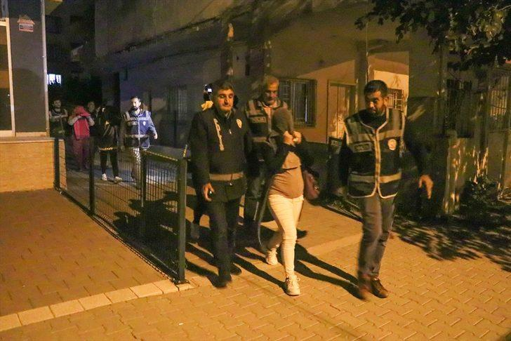 Hatay'da fuhuş operasyonunda 10 şüpheli gözaltına alındı