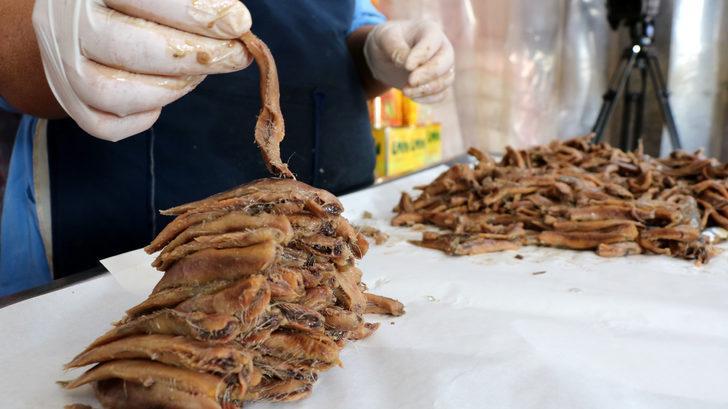 Tuzlu balık sardalya Rumlardan kalma 200 yıllık bir lezzet
