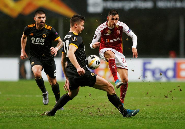 Braga 3 - 3 Wolverhampton