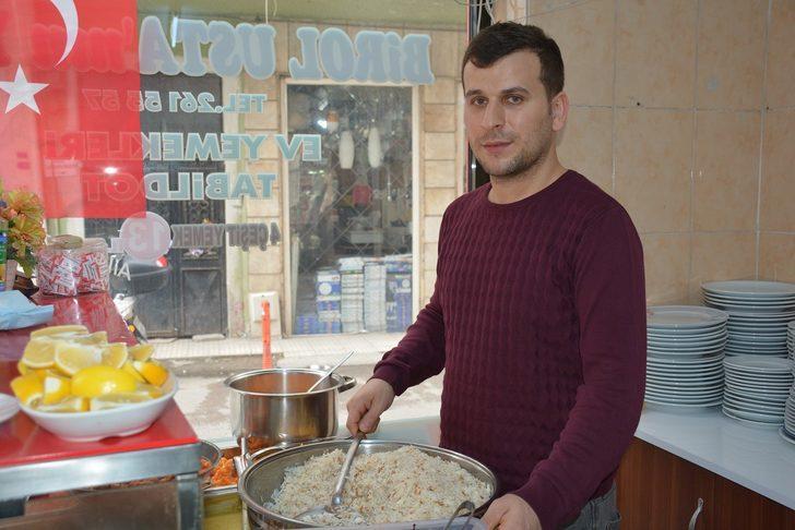 Sinop'ta lokantada askıda yemek uygulaması